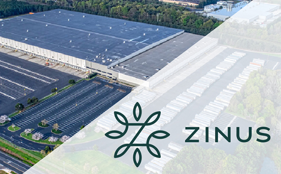 Korea's Zinus Invests 8 M in First U.S. Furnishing Manufacturing Plant